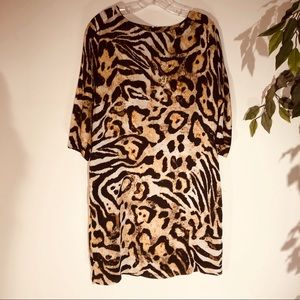 Peter Nygard Leopard Print Dress